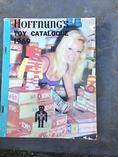 1969 Vintage HOFFNUNGS Toy Catalogue Torro Toltoys  Wyn Toys Bestoys Australia