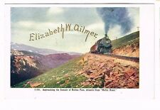 Pre-1907 Railroad The Summit Of Rollins Pass Moffat Road Postcard