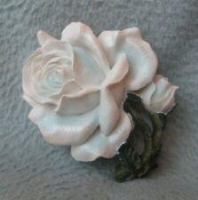 White Rose Flower 3D Magnet Souvenir Travel Refrigerator