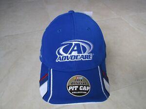 NEW 2014 NASCAR Trevor Bayne AdvoCare Adjustable Pit Cap Blue White