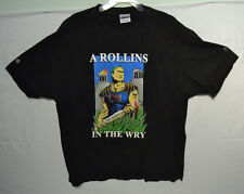 Henry Rollins Spoken Word 2001 German Tour A Rollins in the Wry T-Shirt XL
