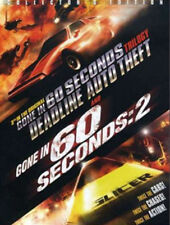 New! Deadline Auto Theft + Gone in 60 Seconds 2 + H.B. Halicki Doc DVD Coll. Ed: