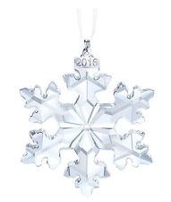 Swarovski Crystal Christmas Large Ornament Annual Edition 2016 Number 5180210-1