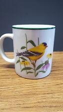 National Wildlife Federation Yellow Finch Bird Mug Coffee Cup Tea