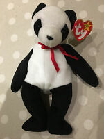 TY Beanie Babies Collectable Fortune Bear with Tag 220mm Tall Listing 1
