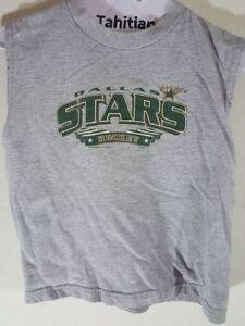Dallas Stars Hockey Gray Shirt Top Child 6/7 Used