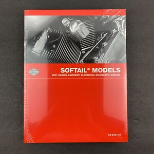 2007 Harley Davidson Softail Models Electrical Diagnostic Manual No. 99498-07