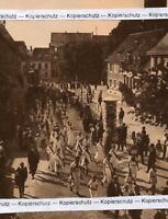 Freiburg Herdern . Turnverein Fahnenweihe Festumzug - um 1925 - RAR -   P 19-13