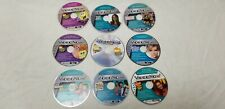 LOT OF 9 VIDEONOW DISCS VIDEO NOW-Sponge Bob-Hillary Duff-Cheer-Neds-Amanda