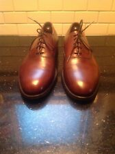 CLASSIC E.T. WRIGHT OXBLOOD LEATHER LACE UP OXFORDS ARCH PRESERVER SZ 11 C