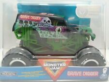 Grave Digger (2020) Spin Master Monster Jam 1:24 Scale Black and Green Truck New