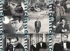 TWILIGHT ZONE 3 SHADOWS AND SUBSTANCE 2002 RITTENHOUSE BASE CARD SET OF 72 TV