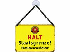 Kulthänger Blechschild Exit KH137