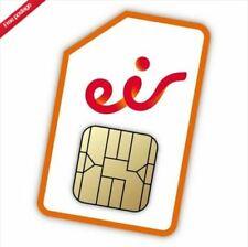 Eir Meteor Ireland Irlande Irish Sim Card Micro Sim Nano 4G WORLDWIDE SHIP