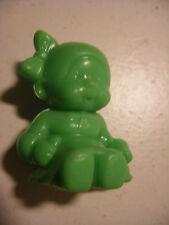 PVC figurine KIKI cadeau surprise lessive BONUX Monchichi Fillette Verte