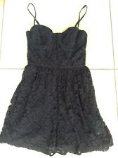 Abercrombie & Fitch A&F Navy Lace Dress Size M Girls / Small Ladies