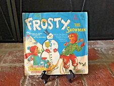 "Vintage Frosty The Snowman - Peter Pan Records 45 RPM 7"" Vinyl Record 1956"