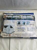 Ameristep Snow Camo Blind Cover