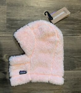 New! PATAGONIA Baby Los Gatos Infant Fleece Pink Hat Size 0-3 Months
