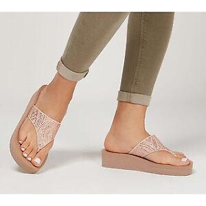 Skechers Vinyasa - Stone Candy Toe Post Sandal