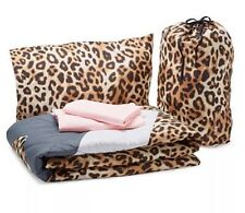 New Victoria's Secret Pink Bed in a Bag Leopard Grey/Pink Size Twin/Twin Xl
