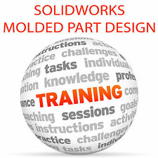 SOLIDWORKS Molded Part Design - Video Training Tutorial DVD