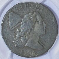 1794 Head of 74 Liberty Cap Large Cent - PCGS VG Details - Nice!