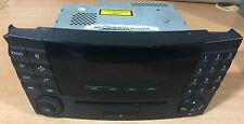 MERCEDES W211 Radio Cd AUTORADIO mf2310 CLASSE E a2118701189