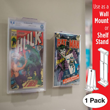 Comic Mount Comic Book Shelf Stand and Wall Mount Invisible and Adjustable ...