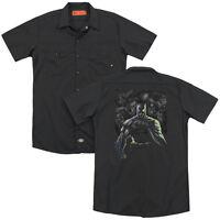 BATMAN VILLAINS UNLEASHED Licensed Adult Men's Dickies Graphic Work Shirt SM-3XL