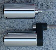 Yamaha YZF R6 03-05 & R6S 06-09 CHROME FRAME SLIDERS