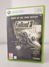 FALLOUT 3 GAME OF The Year Edition GOTY ITALIANO  XBOX 360 COMPLETO DI ESPANSION