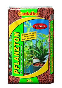 25 Liter Pflanzton Blähton  Körnung 8-16mm   Kultursubstrat Hydokultur