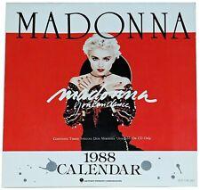 "MADONNA - Official ""You Can Dance"" 1988 Promo Calendar [Japan]"