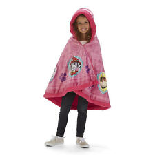 Paw Patrol Snuggle Wrap - Paw Patrol Blanket - Kids Hooded Blankie - Skye Pink