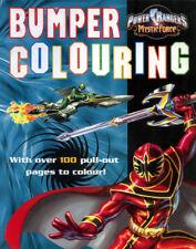 Power Rangers Mystic Force coloring book RARE UNUSED