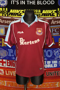 4/5 West Ham United adults L 1999 home football shirt jersey trikot soccer