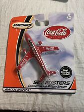 Matchbox 2000 Sky Busters Series Coca~Cola Airliner Collectible NEW!!