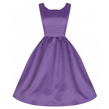 Lindy Bop Iris Prom Party Cocktail Dress Size 16 Uk BNWT RRP £32.99 Lilac