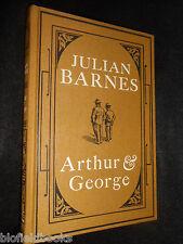 Arthur & George by Julian Barnes (Hardback, 2005-1st) With Wraparound Blurb Band