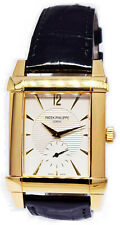 Patek Philippe Mens 5111 Gondolo 18k Yellow Gold Watch 5111J