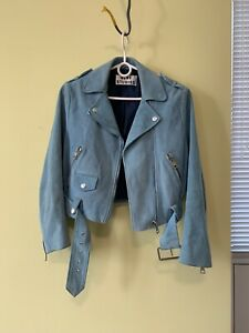 Acne Studios Leather Suede Jacket