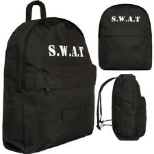 KIDS S.W.A.T RUCKSACK 15 LTR BOYS TACTICAL ARMY POLICE SWAT SCHOOL BAG BACKPACK