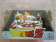 Pack 4 Figurines et Vehicule Dragon Ball Z - AB Toys 1989 - CAPSULE REF 041502