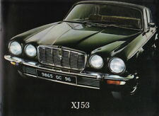 1976 JAGUAR SERIES II XJ12 5.3 Large Format Brochure