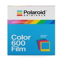 Polaroid Sofortbildfilm Color 600 Film bunten Rahmen f. 600 680 Impulse i-Type
