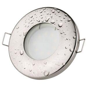 Bad Einbaustrahler Aqua IP65 5Watt LED GU10 230Volt Set Einbauleuchte Dusche