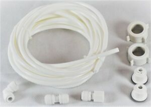 American Fridge Freezer WATER Feed Pipe Hose CONNECTION Connectors Kit