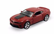 "Welly Chevy Camaro ZL1 1/40 scale 4.75"" diecast model car Burgundy W77"