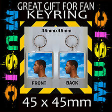 DRAKE NOTHING WAS THE SAME - 45X45mm KEYRING ~#CD453 - CD COVER KEYRING
